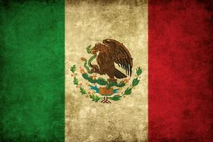 Grunge Flag of Mexico by Graphic Design Resources