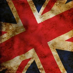 Grunge Uk Flag by Graphic Design Resources
