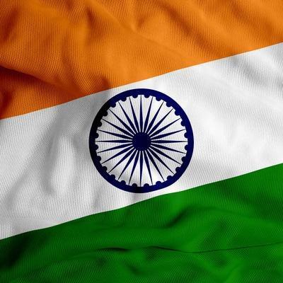 India Cloth Flag
