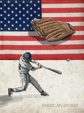 American Sports: Baseball 1 by GraphINC