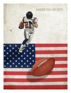 American Sports: Football 1 by GraphINC