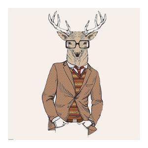 Deer-man 1 by GraphINC