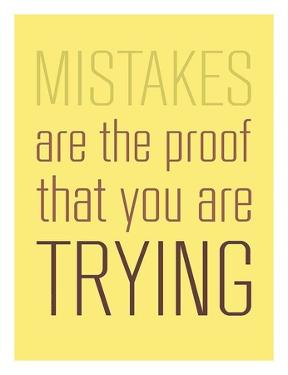 Mistakes Are the proof by GraphINC