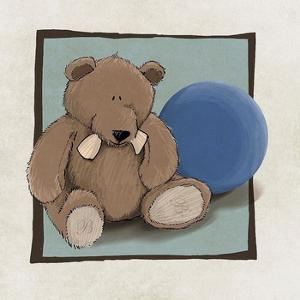 Teddy Bear and Ball by GraphINC