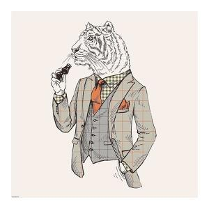 Tiger-man by GraphINC