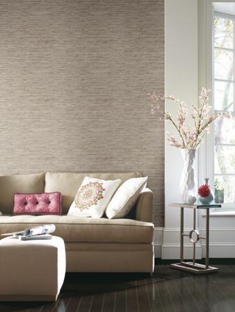 Grasscloth Peel & Stick Wall Decor