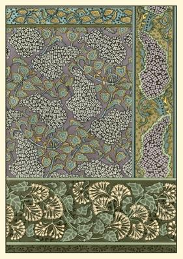 Garden Tapestry III by Grasset