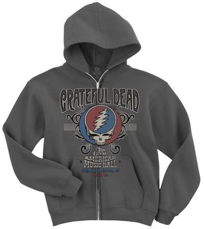 Grateful Dead-Amer Music Hall Zip Hoodie