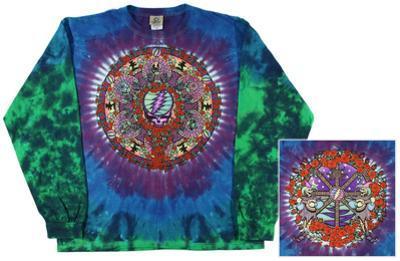 Grateful Dead-Celtic Mandala Long Sleeve