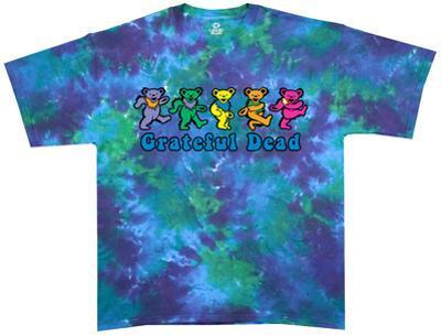 Grateful Dead-Dancing Bear Tie Dye