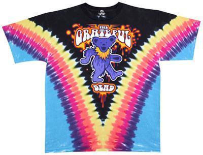 Grateful Dead- Liquid Bear V-Dye