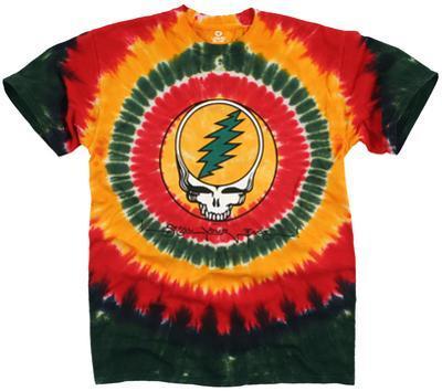 Grateful Dead-Rasta Syf Tie Dye