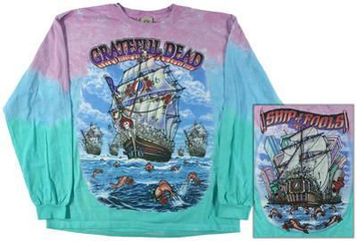 Grateful Dead-Ship Of Fools Long Sleeve