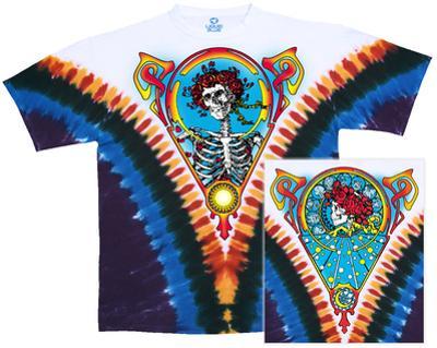 Grateful Dead- Skull and Roses (Front/Back)