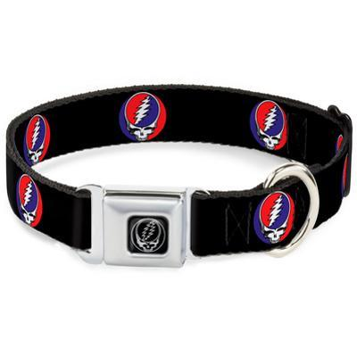 Grateful Dead - Steal Your Face Dog Collar