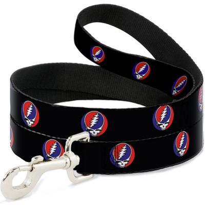 Grateful Dead - Steal Your Face Repeat Dog Leash