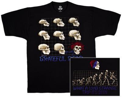 Grateful Dead- Strange Trip Evolution (Front/Back)