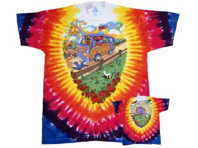 Grateful Dead - Summer Tour Bus