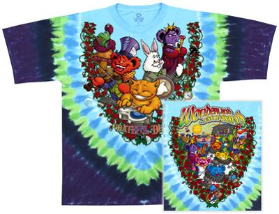 Grateful Dead- Wonderland Jamband (Front/Back)