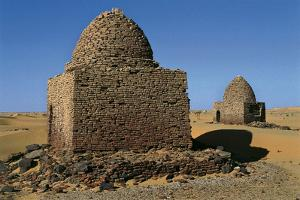 Graves (Qubba) of Holy Men, Athar Nabi, Old Dongola, Egypt
