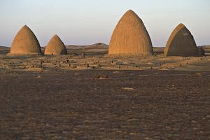 Graves (Qubba) of Holy Men, Old Dongola, Egypt