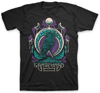 Graveyard- Two-Headed Crow