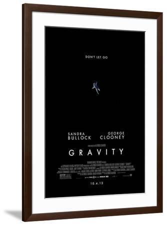 Gravity--Framed Poster
