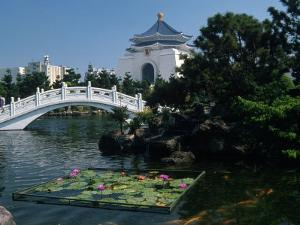 Chiang Kai Shek Memorial, Taiwan by Grayce Roessler