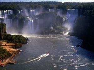 Iguazu Falls, Brazil by Grayce Roessler
