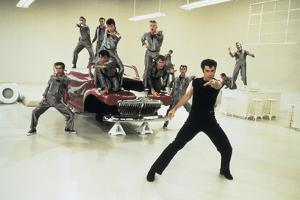GREASE, 1978 directed by RANDAL KLEISER John Travolta (photo)