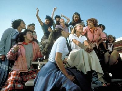 GREASE, 1978 directed by RANDAL KLEISER Olivia Newton-John (photo)