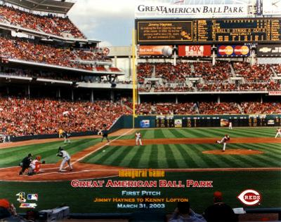 Great American Ballpark - First Pitch