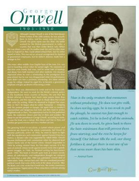 Great British Writers - George Orwell