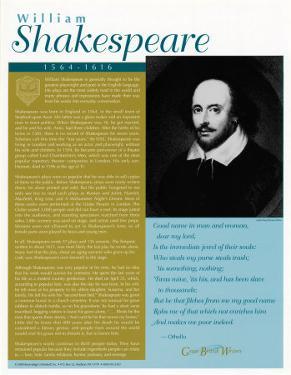 Great British Writers - William Shakespeare