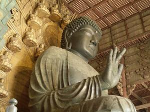 Great Buddha Vairocana (Daibutsu), Todaiji Temple, Nara, Honshu, Japan