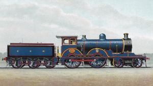 Great Eastern Railway Express Locomotive No 1000 Claud Hamilton