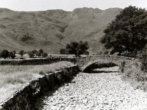 Great Langdale Becks in Late District During the Drought, June 1976