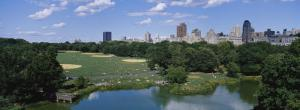 Great Lawn, Central Park, Manhattan, New York City, New York State, USA