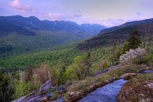 Great Range from First Brother, Adirondack Park, New York State, USA