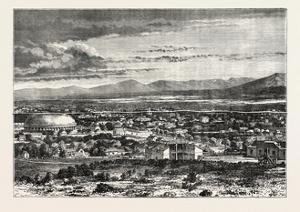 Great Salt Lake City, USA, 1870s