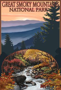 Great Smoky Mountains - Waterfall, c.2009