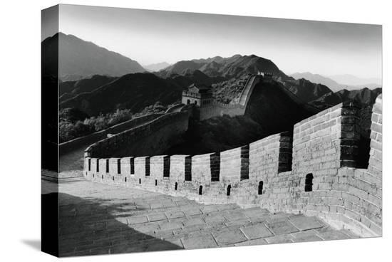 Great Wall of China--Stretched Canvas Print