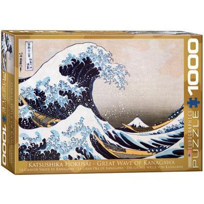 Great Wave of Kanagawa by Katsushika Hokusai 1000 Piece Puzzle