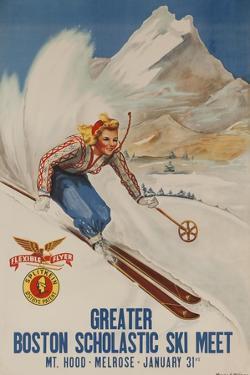 Greater Boston Scholastic Ski Meet Poster