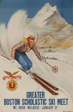 Greater Boston Scholastic Ski Meet Poster