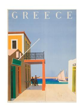 Greece Poster