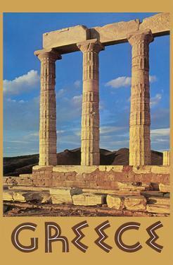 Greece - Temple of Poseidon at Cape Sounion