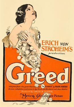Greed, Zasu Pitts, 1924