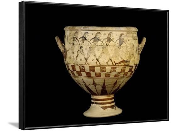 Greek Art : Ulysses Blinding the Giant Polyphemus--Framed Photographic Print
