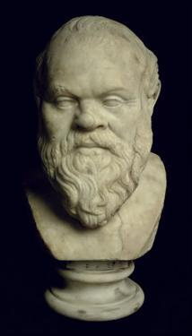 Bust of Socrates by Greek